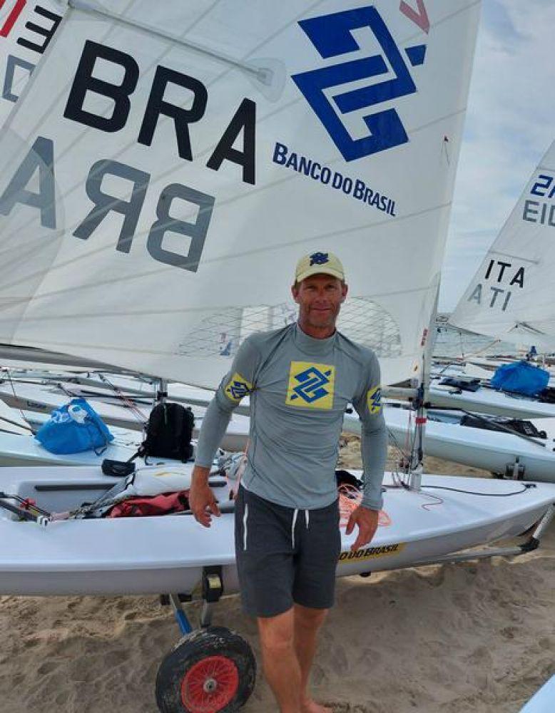 Scheidt foi regular nas oito regatas do campeonato (Divulgação)