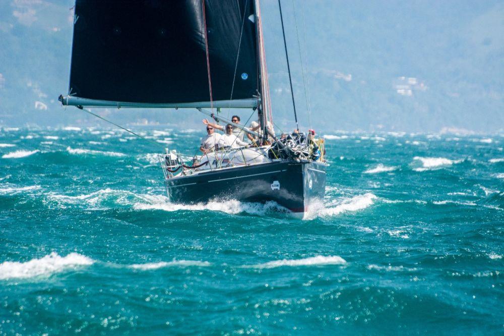 Barcos na disputa das duas primeiras etapas Copa Suzuki em Ilhabela este ano
