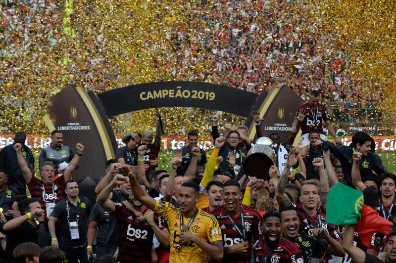 Veja as fotos de Flamengo x River Plate na decisão da Libertadores