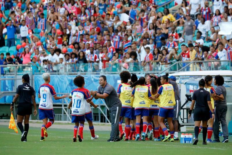 Confira as imagens de Bahia x Juventude pelo Campeonato Baiano Feminino