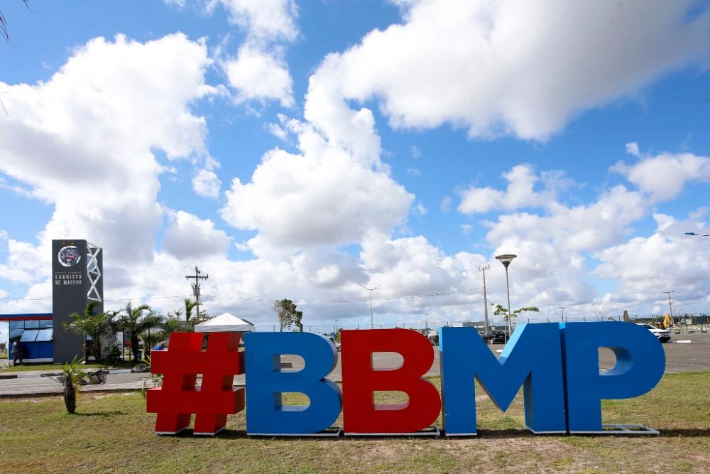 Confira as fotos da Cidade Tricolor, inaugurada neste sábado pelo Bahia