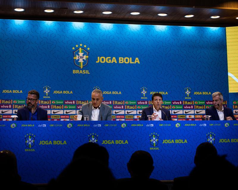 Fotos da convocação da Seleção Brasileira para as Eliminatórias de março