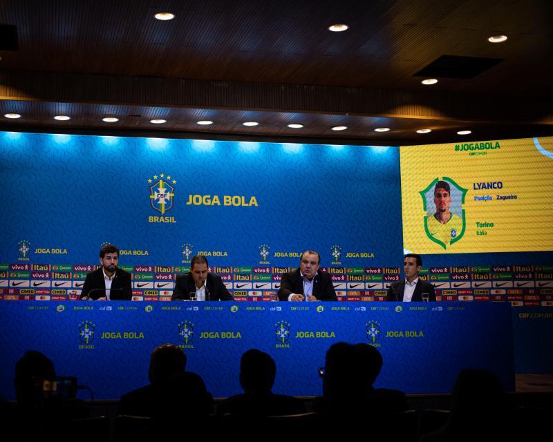Fotos da convocação da Seleção Olímpica