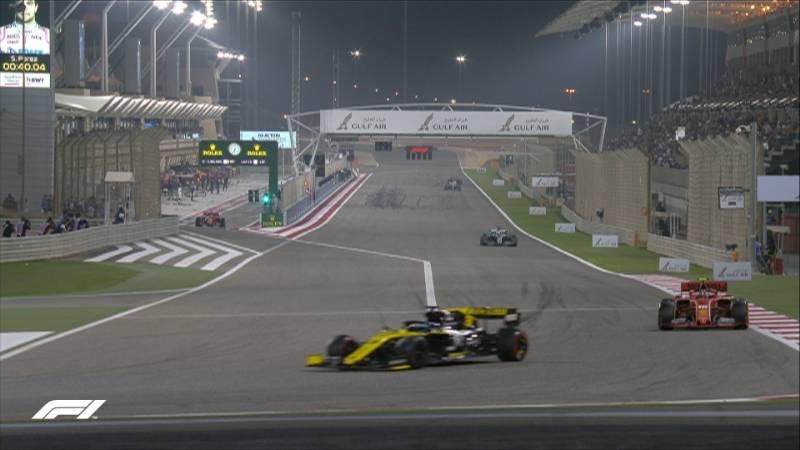 Veja imagens do Grande Prêmio do Bahrein de Fórmula 1