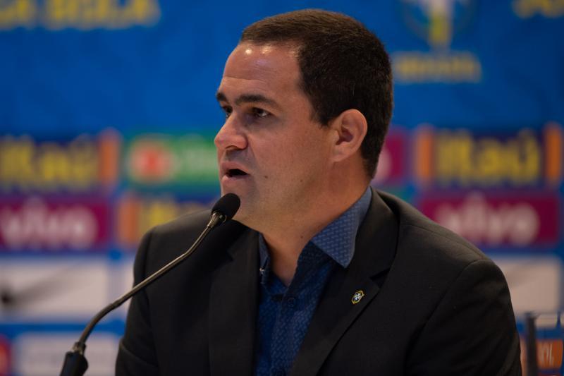 Foto da convocação da Seleção Olímpica para os amistosos contra Venezuela e Japão em Recife
