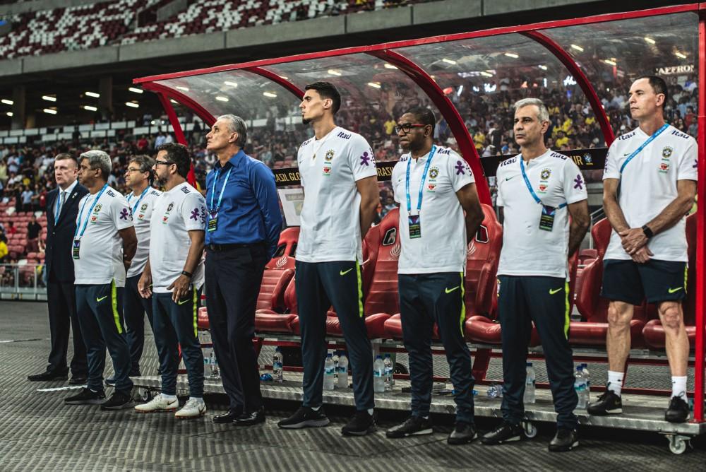 Fotos de Brasil x Senegal, em Singapura