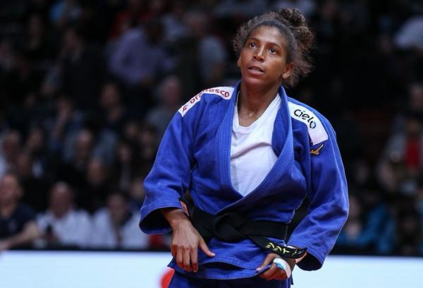 Campeão olímpica, Rafaela Silva terminou em quinto (Foto: Emmanueli Di Feliciantonio/IJF)