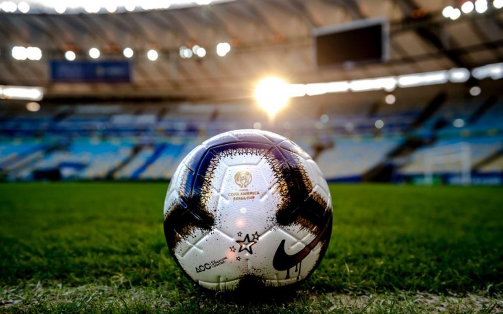 Merlin Rabisco é o nome da bola da final da Copa América (Foto: Divulgação)