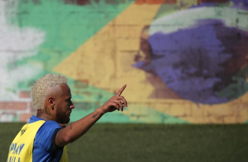 Neymar Jr , Praia Grande 13/07/2019 REUTERS/Rahel Patrasso