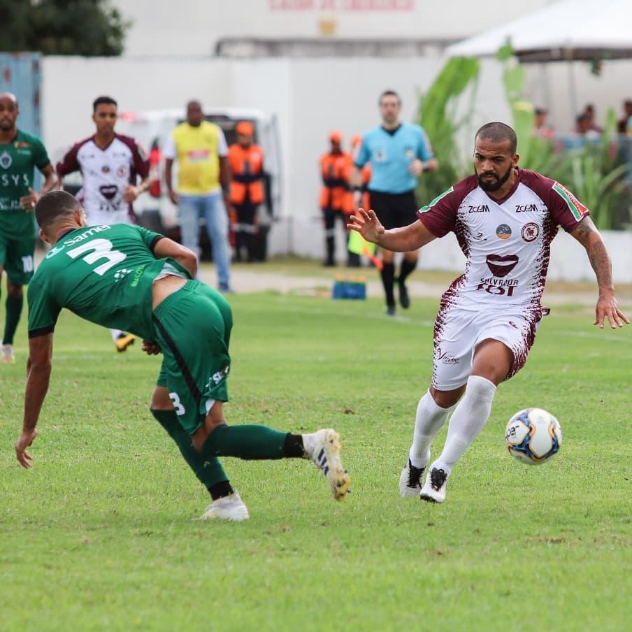 Jacuipense pega Manaus de olho na decisão da Série D do Brasileirão