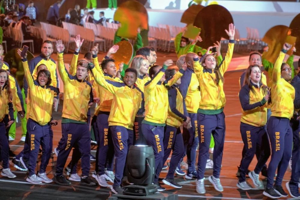 Cerimônia de abertura do Parapan conta com maior delegação brasileira da história