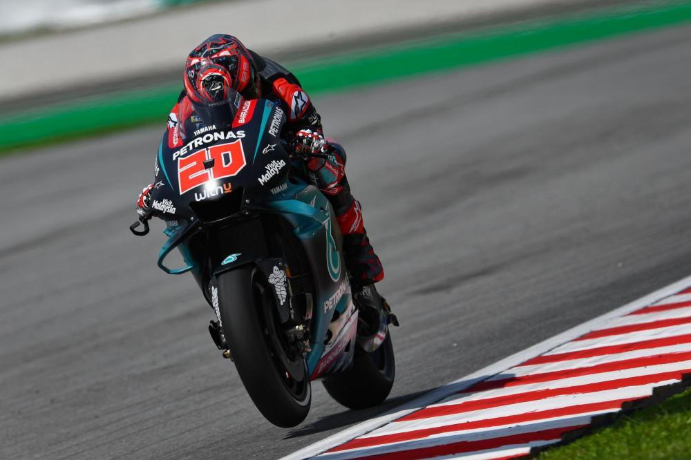 Fabio Quartararo, SRT da Petronas Yamaha, Grande Prêmio de Motos Shell da Malásia Foto: Divulgação/MotoGP