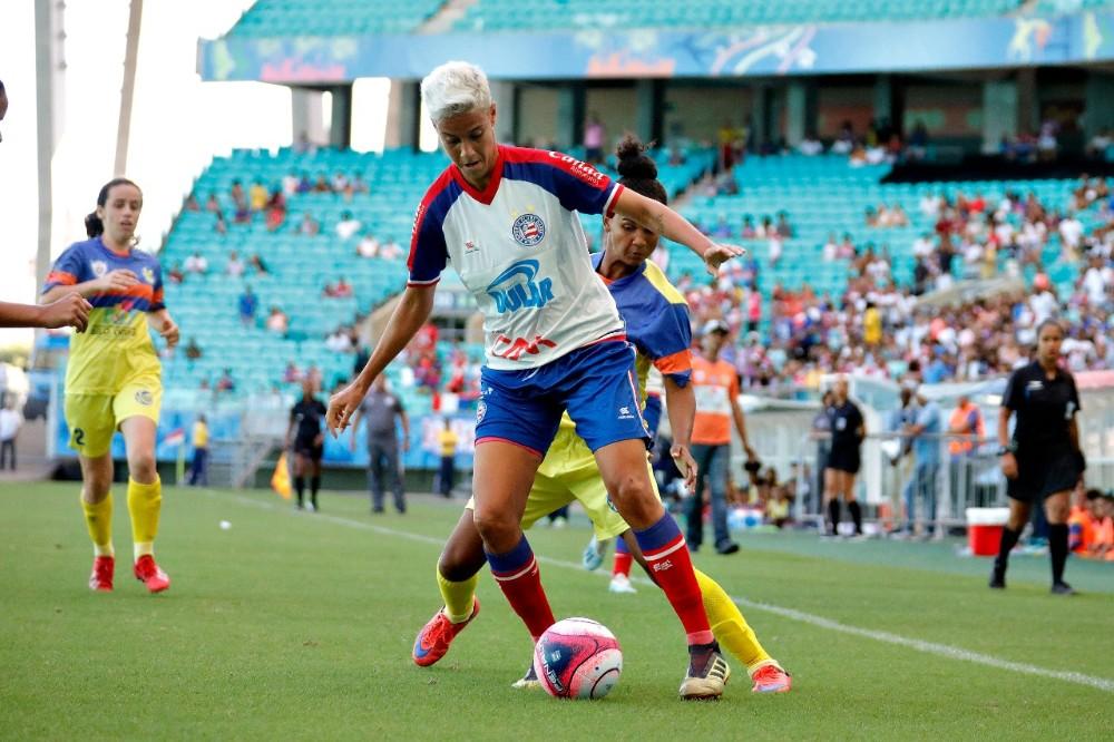 Bahia goleia o Juventude é campeão Baiano Feminino