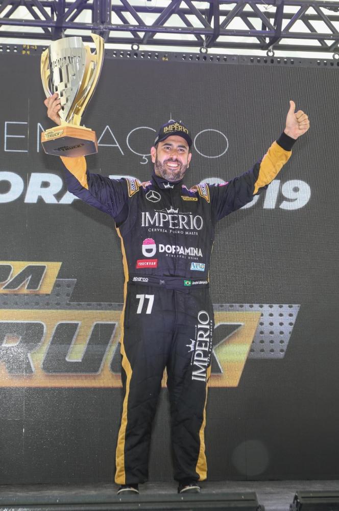 André Marques confirmou vice-campeonato da Copa Truck. Crédito: Rodrigo Ruiz/RR Media