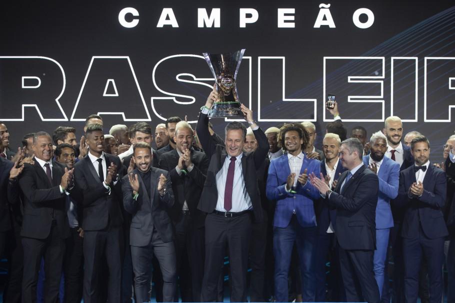 Flamengo domina premiação do Campeonato Brasileiro