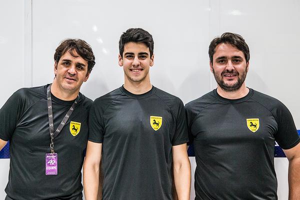 Planos futuros: Cavaleiro, Martins e Serafim Jr. (Bruno Terena/MS2)