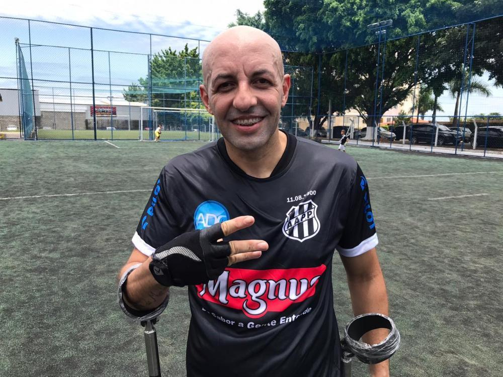 Foto: Divulgação/Ponte Preta Futebol de Amputados
