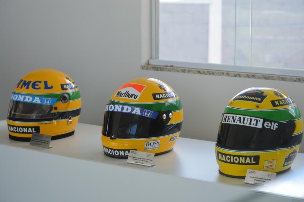 Exposição em homenagem a Ayrton Senna no Speed Park (Bednarski Photos/RF1)