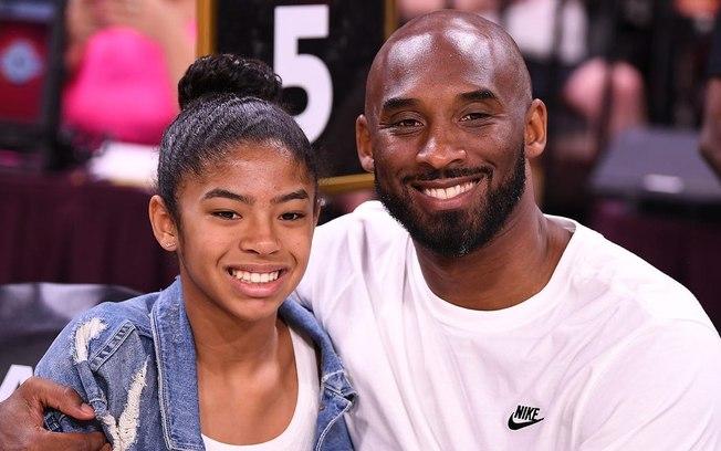 Foto: Today Sports/ Gianna Bryant ao lado do pai