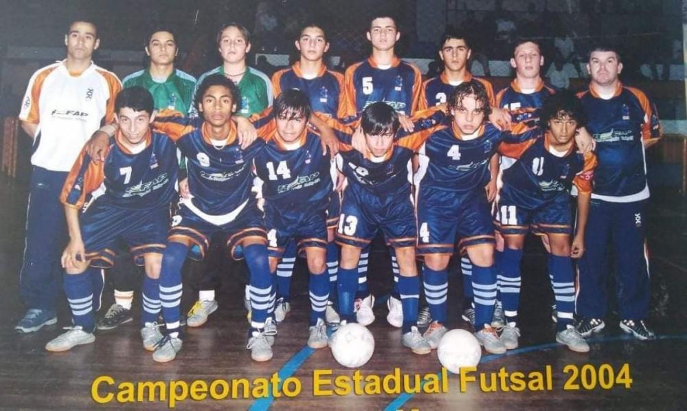 Atleta do Futsal gaúcho comemora mais um ano de atividade