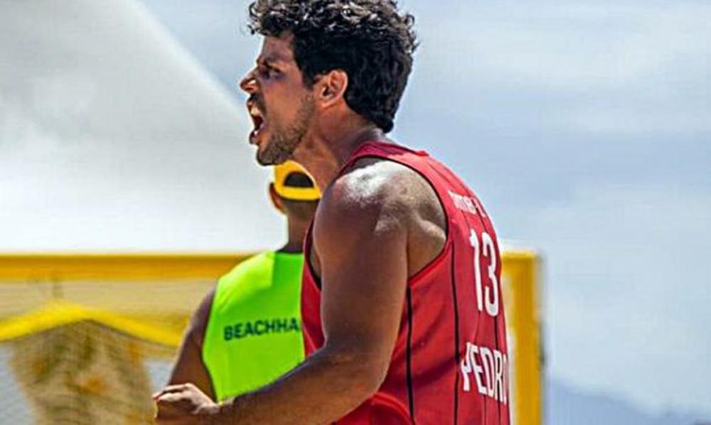 Pandemia adia sonho de atleta ítalo-brasileiro de handball de areia
