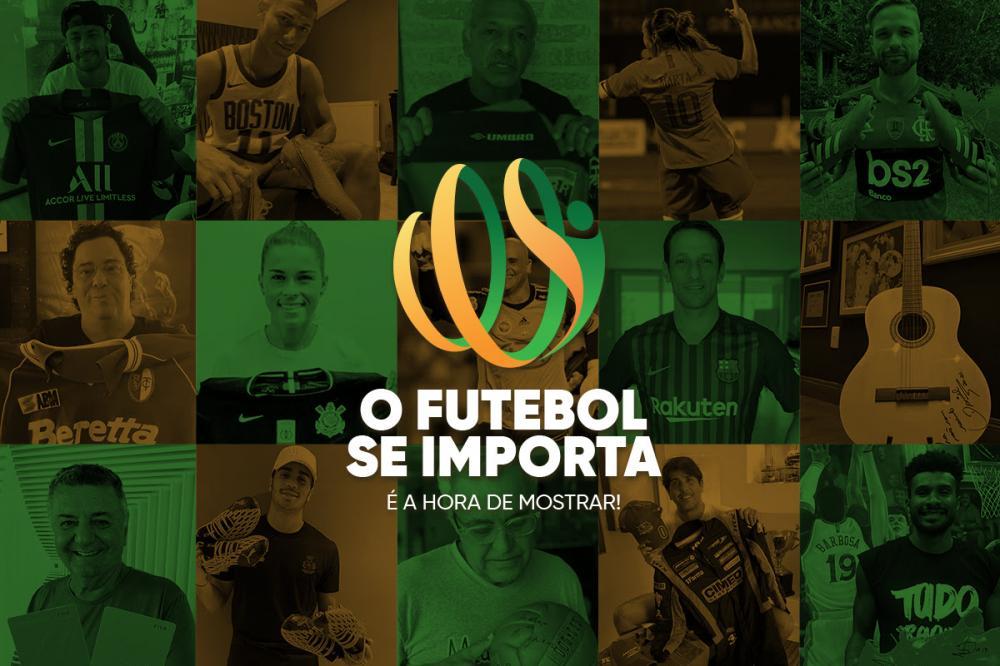 Campanha #oFutebolseImporta ajuda crianças em risco social no Rio de Janeiro