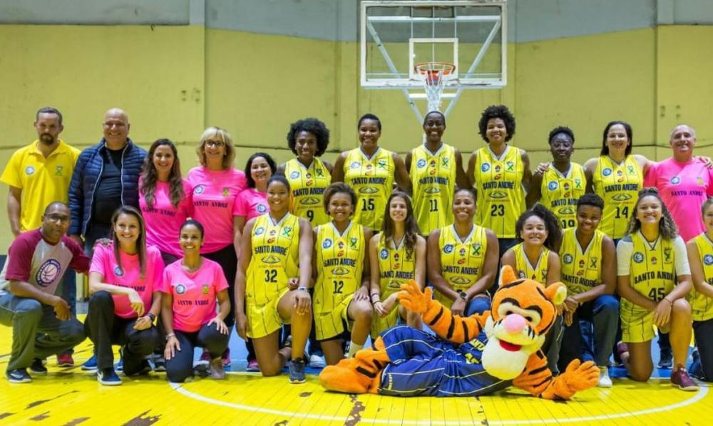 Santo André promove encontro virtual de basquete feminino no domingo