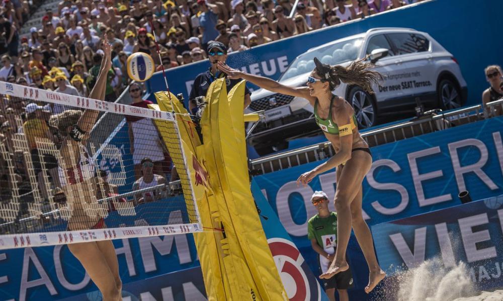 Liga de Vôlei de Praia retorna na Alemanha neste sábado, sem público