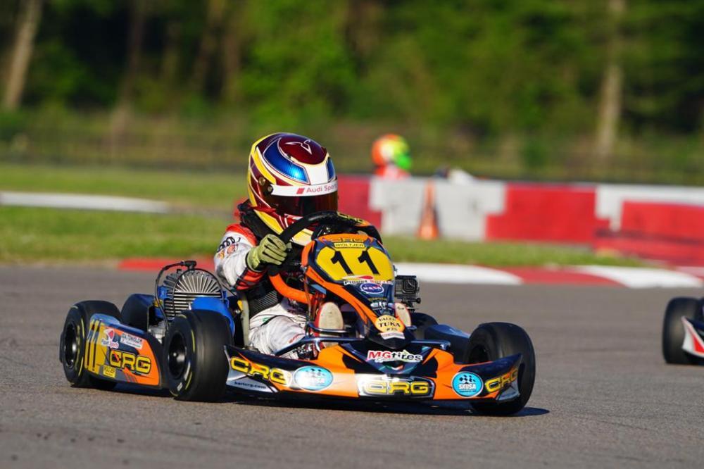 De olho em carreira internacional, Augustus Toniolo comemora retorno do kart em julho