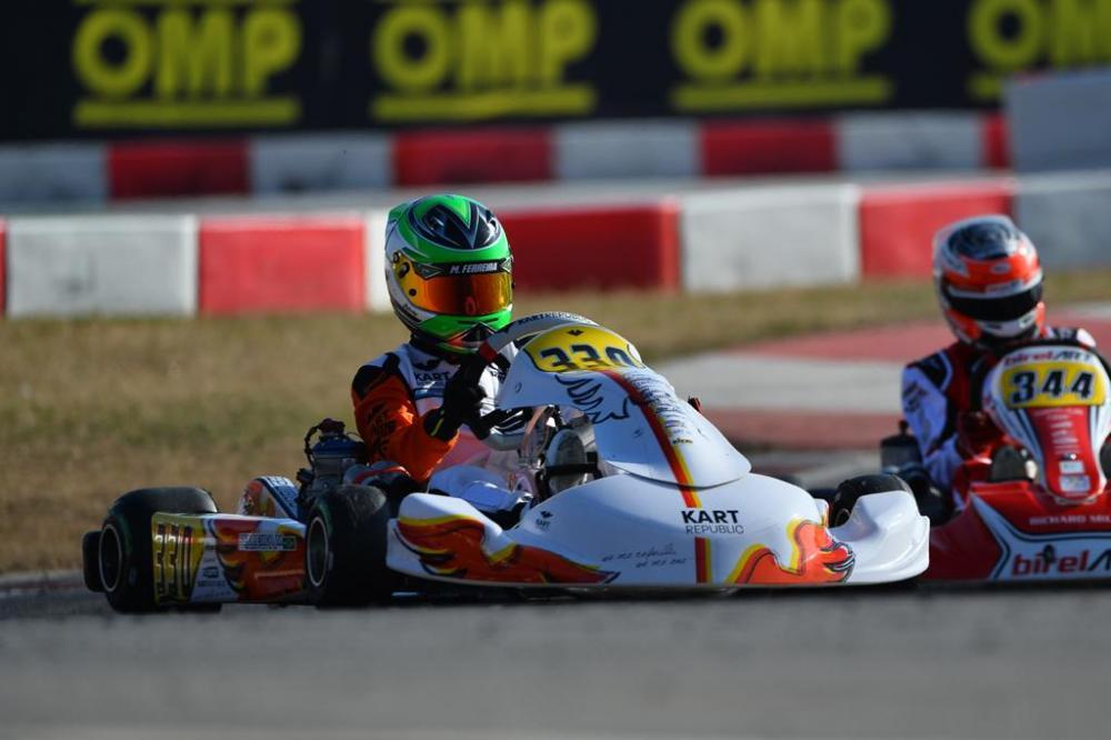 Matheus Ferreira foca preparação para estreia no Europeu de Kart