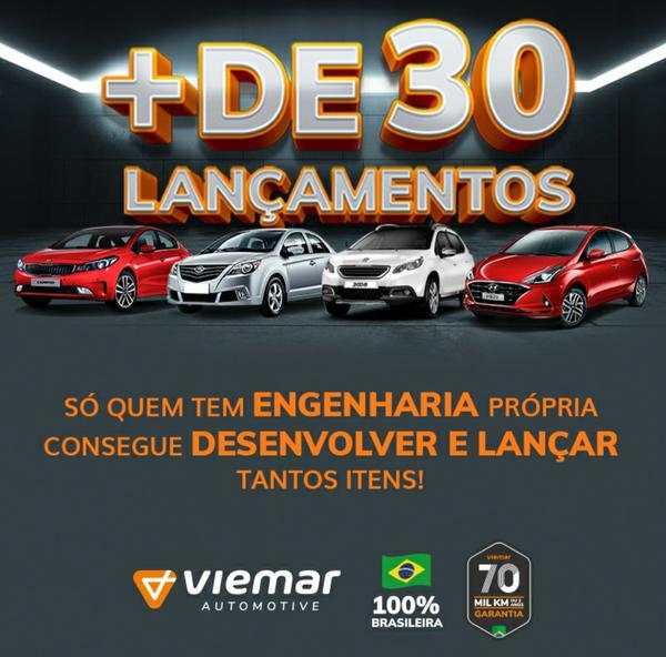 Viemar Automotive lança campanha + DE 30 LANÇAMENTOS