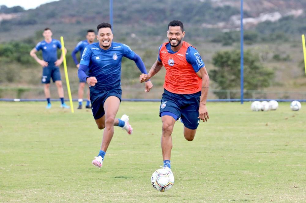 Bahia segue preparação e atletas participam de treinos específicos no CT Evaristo de Macedo