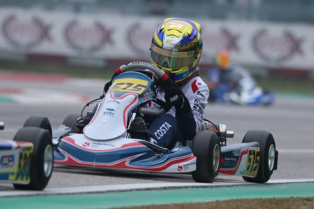 Revelação da Sauber no kart, Miguel Costa volta a competir no principal torneio do kartismo europeu