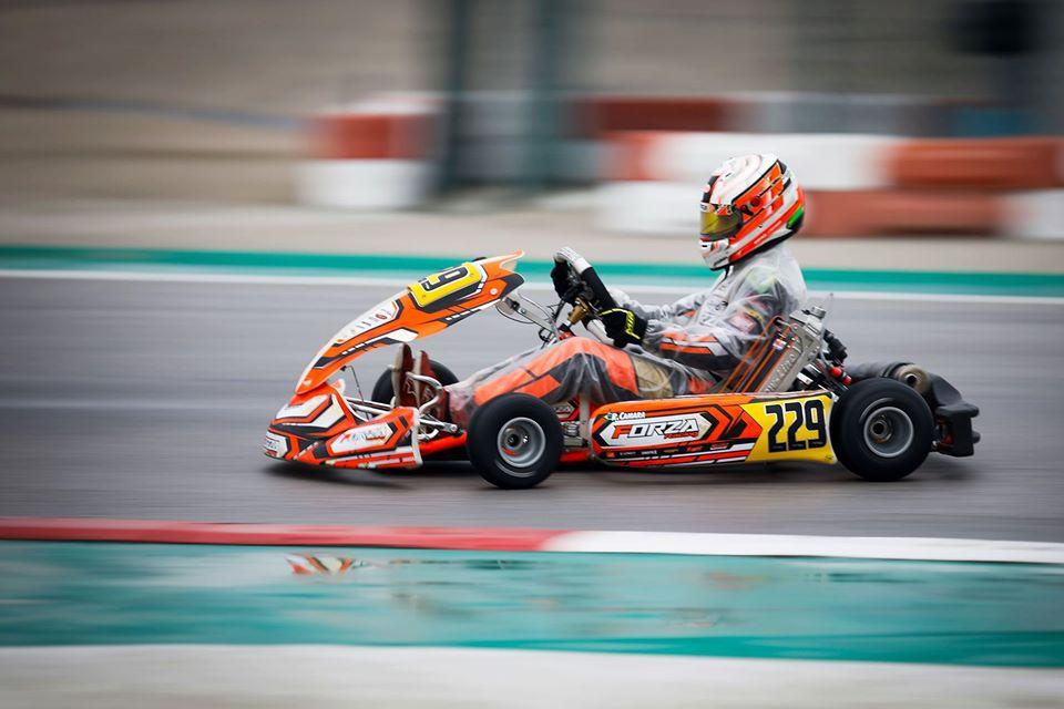 Vice-campeão mundial de kart, Rafael Câmara disputa rodada dupla do WSK na Itália