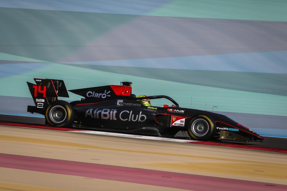 Enzo Fittipaldi estreia na FIA F3 com a HWA Racelab na Áustria