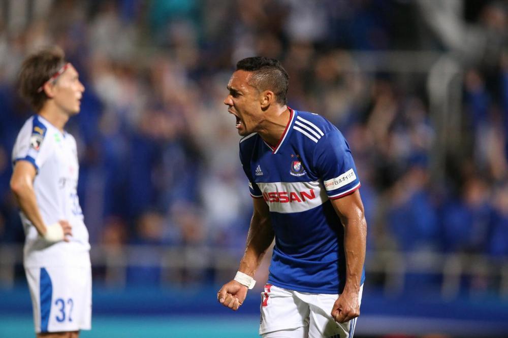 Goleador no atual campeão japonês, atacante Edigar Junio mira o bicampeonato da J-League