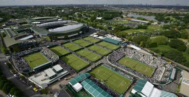 Wimbledon doa toalhas e bolas da edição cancelada de 2020