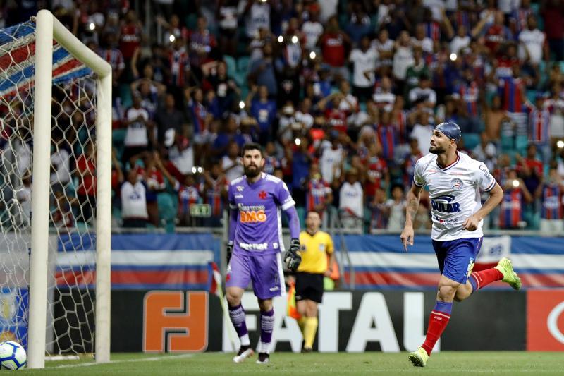 Bahia 1 X 1 Vasco. Gol de Gilberto e Marrony. (05/12/2019)