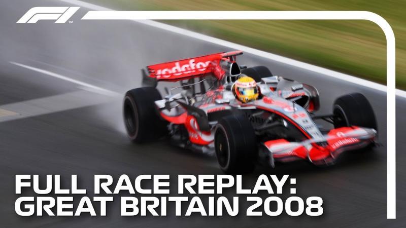 F1 REWIND: Assista ao brilhante GP de Hamilton de 2008 na íntegra