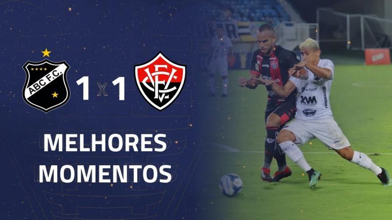 Melhores Momentos de ABC 1 x 1 Vitória pela 6ª rodada da Copa do Nordeste 08/03/2020