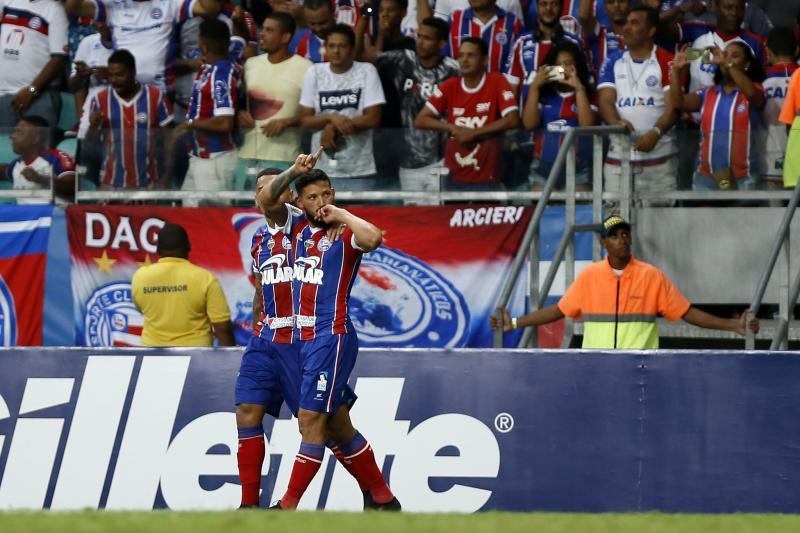 Bahia 1 X 0 CSA. Gol de Artur Caíque (31/8/2019)