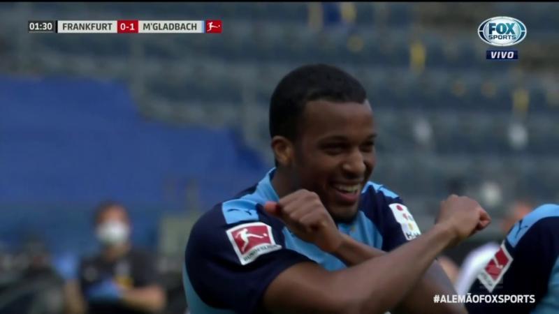 Veja os melhores momentos de Eintracht Frankfurt 1 x 3 Borussia M'Gladbach